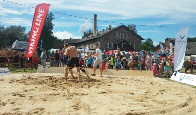 TÜASK maadleja tuli Eesti meistriks rannamaadluses!