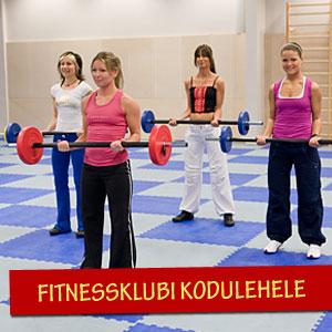 Fitnessklubi lehele