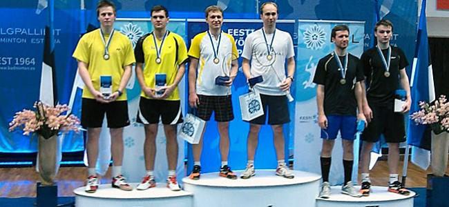 Eesti meistrivõistlustelt toodi medalikohti