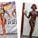 Fitnessi naised näitasid vormi