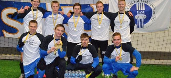 Tartu Ülikool on talijalgpalli meister