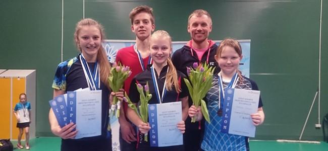 Noorte meistrivõistlustelt toodi medaleid
