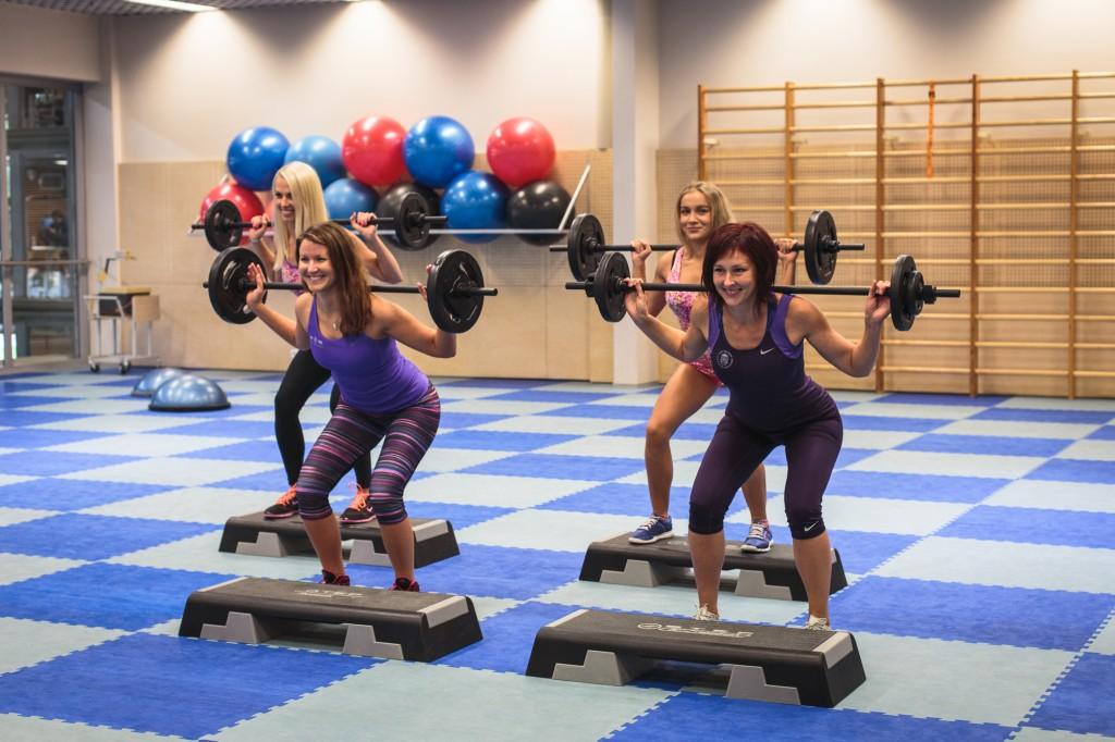Aeroobikasaal - aerobics