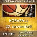 Selgitati Tartu Ülikooli meistrid korvpallis!