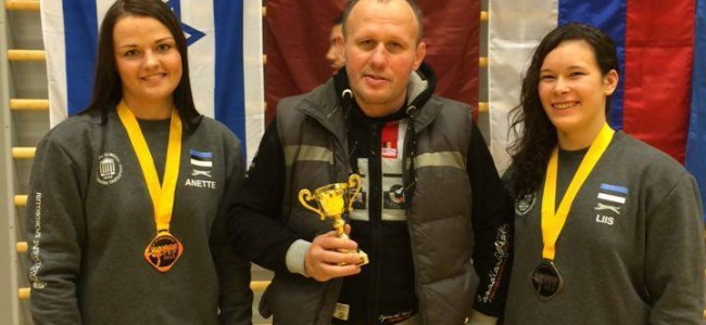 TÜASK maadlejad osalesid Soome ja Eesti meistrivõistlustel!