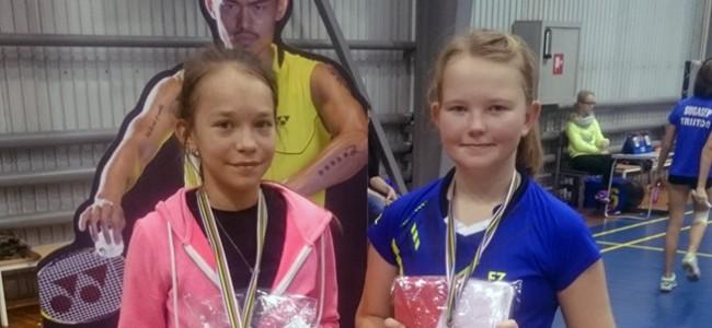 Aasta viimaselt sulgpalli noorte GP etapilt toodi medaleid