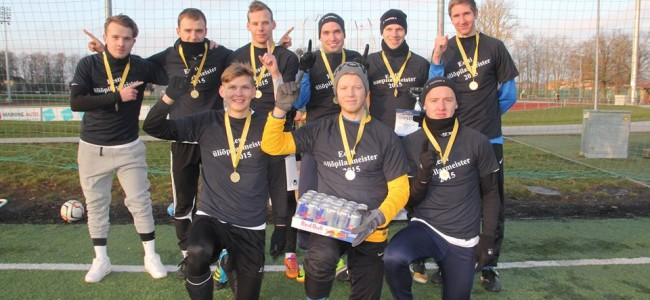 Üliõpilaste meister talijalgpallis on Tartu Ülikool