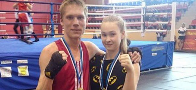 Raiki Kinsigo teenis U19 vanuses poksi Eesti meistritiitli