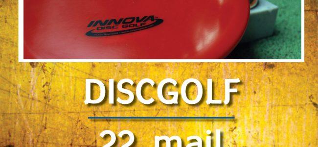Tartu Ülikooli meistrivõistlused discgolfis 22.05 kell 15.00!