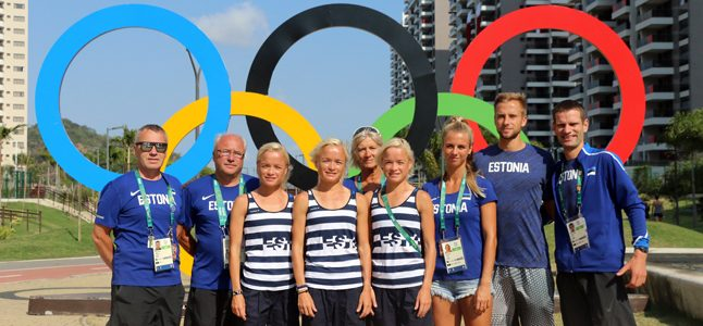 TÜ ASKi sportlased esinesid Rios edukalt
