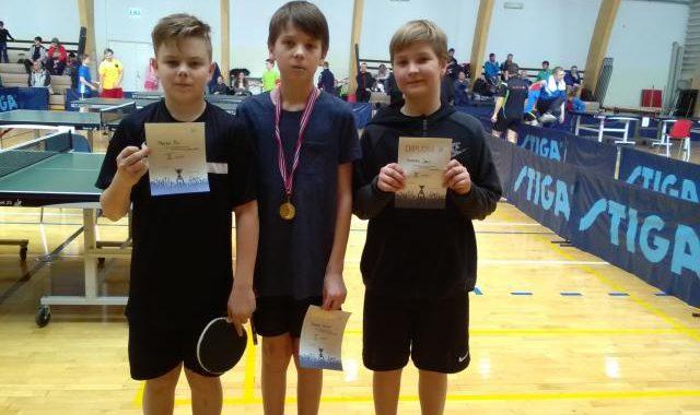 Tartu linna lauatennise MV-lt toodi 10 medalit