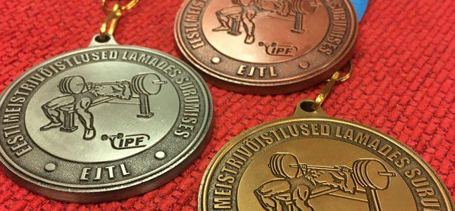 Jõutõstjad tõid Tartusse 12 Eesti rekordit ning 14 meistritiitlit!