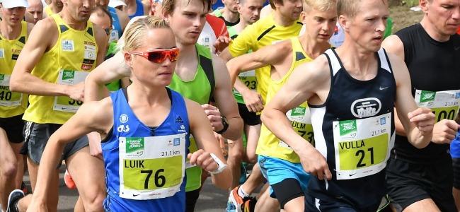 Lily Luik võitis järjekordse Eesti meistritiitli poolmaratonis