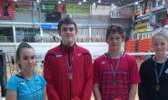 Sulgpallurid tõid Eesti Noorte GP-sarja 1.etappilt häid tulemusi