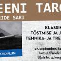 """27. septembril toimub esimene """"Treeni Targalt"""" seminar"""