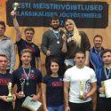 Jõutõstjatelt head tulemused Eesti meistrivõistlustel