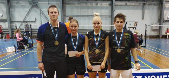Tallinnas Punase tänava sulgpallihallis peeti Eesti GP-sarja esimene etapp