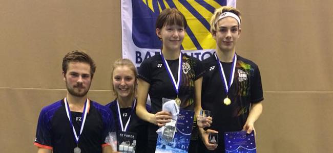 Hannaliina Piho saavutas Euroopa Juuniorite etapilt segapaarismängus 2. koha