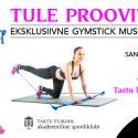 9. novembril Gymstick Muscle demotrenn
