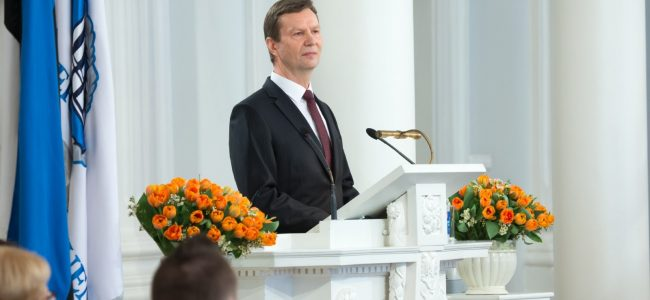 Lahkus rektor Volli Kalm