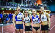 Kergejõustiklased esinesid edukalt noorte, juunioride ja noorsoo vanuseklasside Eesti meistrivõistlustel
