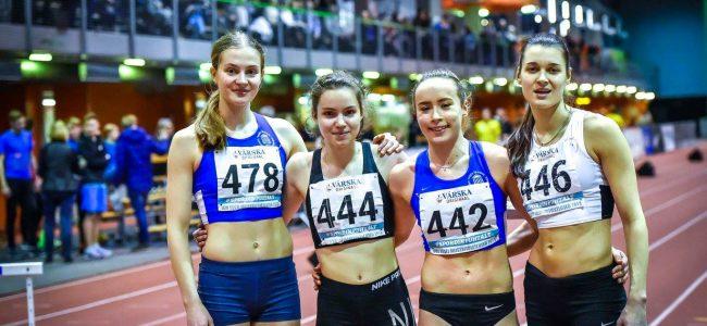Teatejooksu noorte meistrivõistlustelt tõid TÜ ASK noored neli kulda