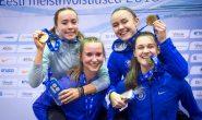 U23 neiud jooksid Eesti sisemeistrvõistlustel uue 4x400m vanuseklassi rekordi
