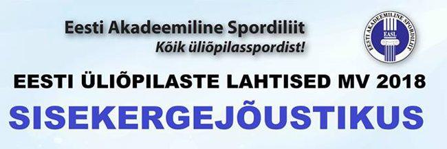 Eesti kõrgkoolide, kutseõppeasutuste ja Tartu Ülikooli 2018. a lahtised meistrivõistlused kergejõustikus