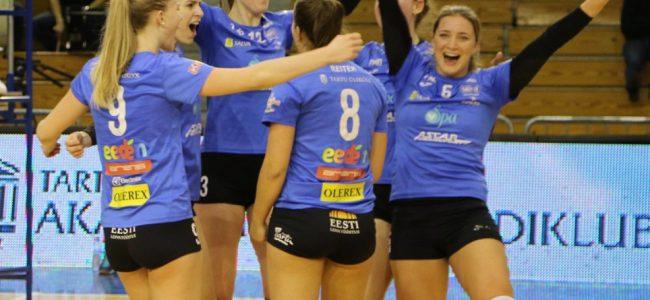 Naiste võrkpalli Balti liiga meistriks krooniti Tartu Ülikool/Eedeni naiskond!
