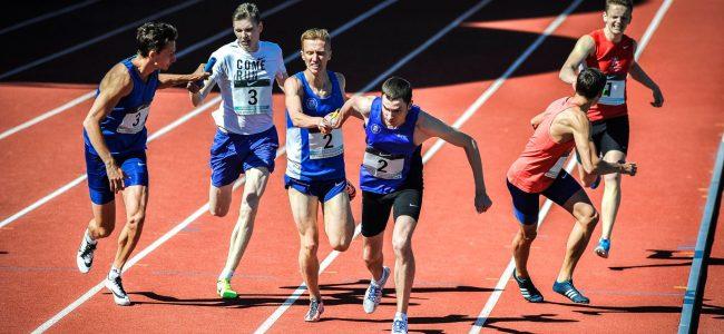Rakveres toimunud Eesti teatejooksude meistrivõistlustel võitis meie spordiklubi kolm Eesti meistritiitlit ja kaks kolmandat kohta.