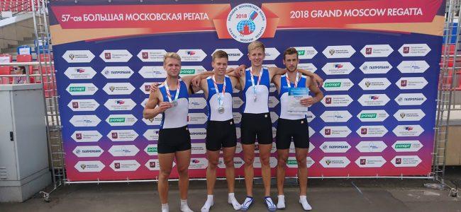Eesti koondise U23 neljapaat saavutas Moskva regatil teise koha