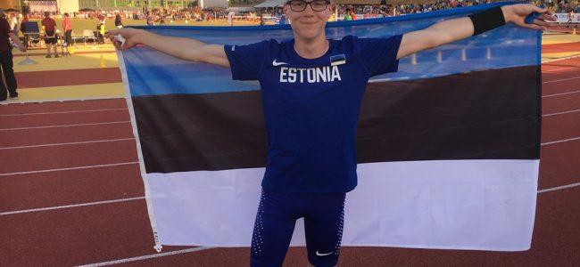 Eerik Haamer saavutas Euroopa meistrivõistlustel kolmanda koha