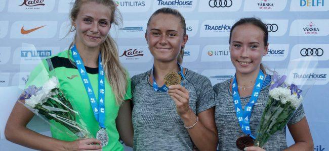 EV 100 Eesti kergejõustiku meistivõistlustel näitasid TÜ ASK sportlased häid tulemusi