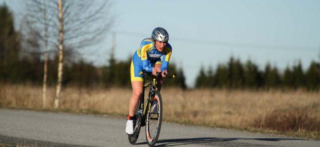 Mae Lang esindas juunioride Euroopa meistrivõistlustel Eesti rattakoondist