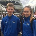 Spordiklubi noored sprinterid jooksid Eesti Euroopa kaheksandaks sprindimaaks