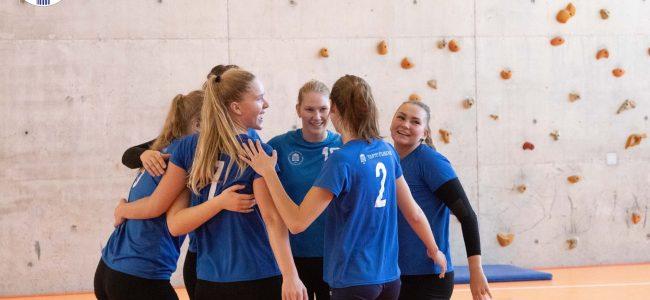 Tartu Ülikooli võrkpallinaiskond kaitses üliõpilaste meistrivõistluste tiitlit