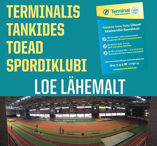 Terminalis tankides toetad spordiklubi