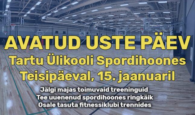 TÜ spordihoones on avatud uste päev