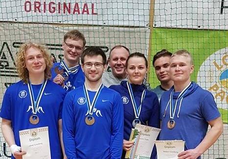 Maadlejad teenisid Eesti meistrivõistlustel hulgaliselt medaleid