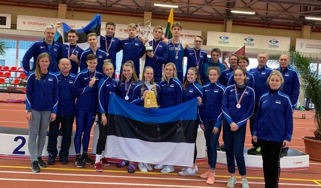 Eerik Haamer püstitas teivashüppes U20 Eesti rekordi