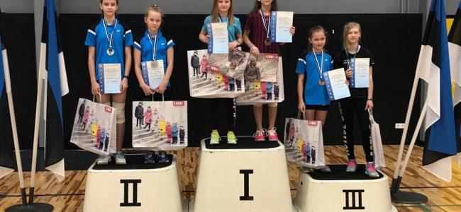 Tartus toimusid Eesti Noorte Meistrivõistlused sulgpallis