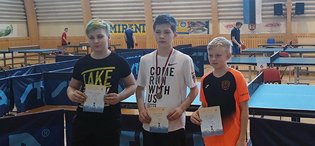 Lauatennise Tartu meistrivõistlustel saavutati esikohti