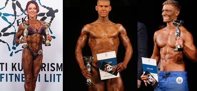 Kulturistid olid edukad Eesti Karikavõistlustel