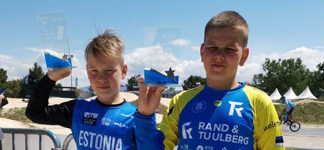 BMX krossiratturid võidutsesid Euroopa karikasarjal