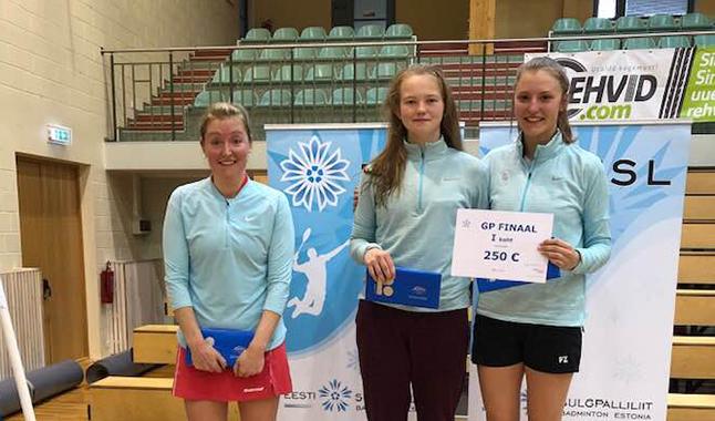 Sulgpalli GP finaaletapil tuli Hannalinna Piho kolmekordeks võitjaks