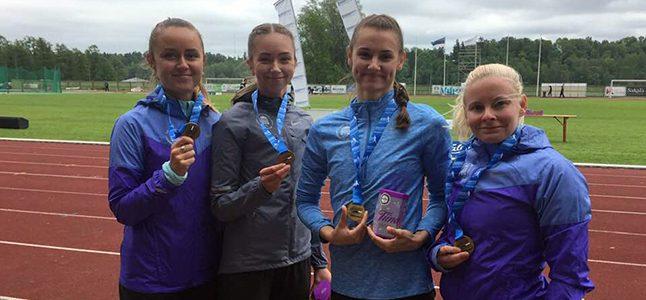 Teatejooksude Eesti meistrivõistlustelt viis kulda ja viis hõbedat