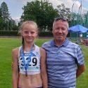 Katarina Verst tuli mitmevõistluse U14 vanuse Eesti meistriks