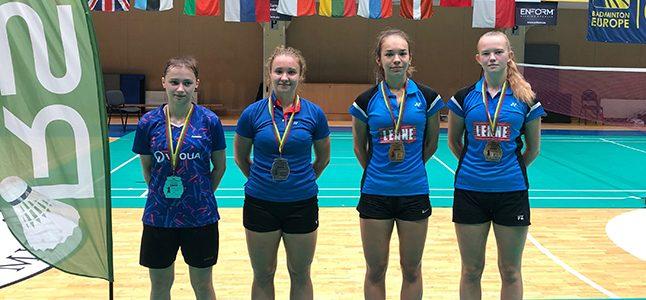 Ramona Üprus sulgpallis võitis naispaarismängus Euroopa Karikaetapi