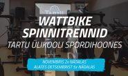 Wattbike spinnitrennid TÜ spordihoones