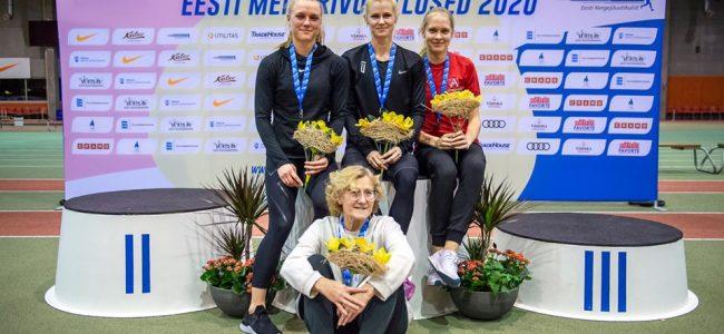 Mari Klaup-McColl mitmevõistluse Eesti meister!